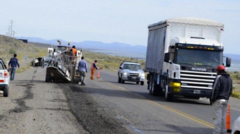 Provincia inició la pavimentación de la ruta Nacional 259