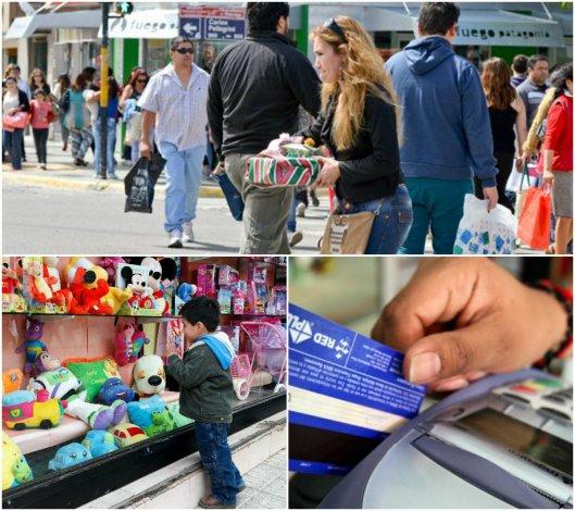 Comodoro: las ventas para Reyes bajaron un 10 por ciento con respecto al año pasado