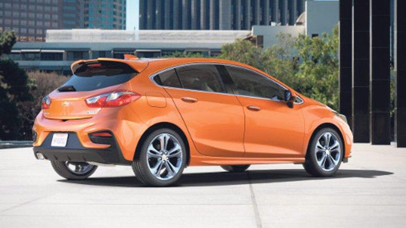 Este es el nuevo Chevrolet Cruze Hatchback