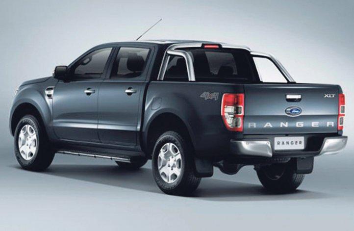 Revelan el interior de la nueva Ford Ranger
