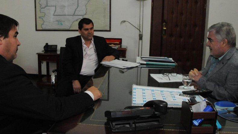 El gobernador Das Neves se reunió con el intendente de Río Mayo