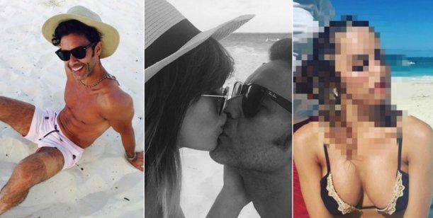 Fotos románticas en la playa ¡y ella cambió el look!