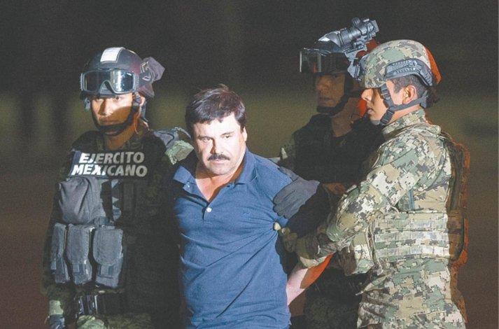 Guzmán fue recapturado el viernes.