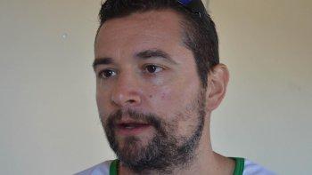 Federico Sica, vicepresidente de la Fundación Patagonia Deportes de Arena, entidad organizadora del Circuito Patagónico de beach hándbol.