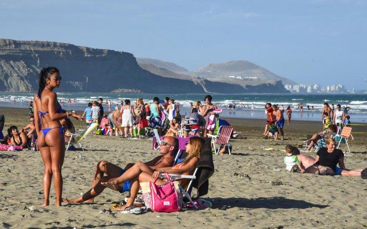Los días de sol y playa quedarán relegados unas horas por el descenso de la temperatura que comenzará a partir de mañana.