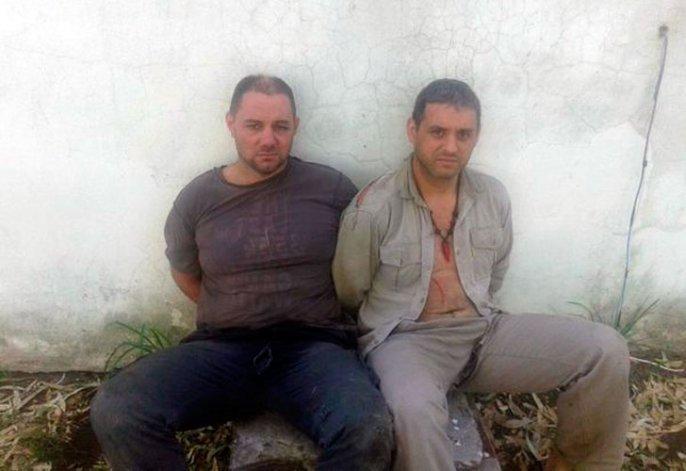Así están Cristian Lanatta y Schilacci después de ser detenidos