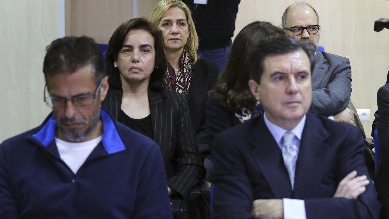 Juicio a la infanta Cristina por corrupción.
