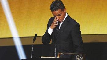 Wendell Lira, el futbolista brasileño que se adjudicó el premio Puskas por haber marcado el mejor gol de la temporada 2015.