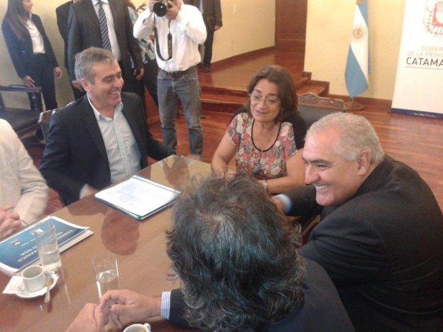 Cano se reunió con la gobernadora Lidia Corpacci para articular el Plan Belgrano en Catamarca.