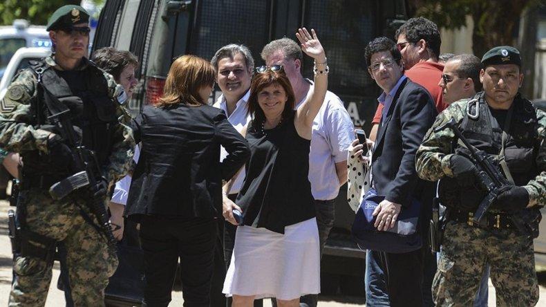 Bullrich expresó que el presidente Mauricio Macri está contento pero alerta por la detención.