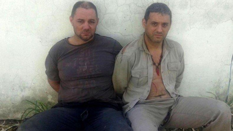 Detuvieron a los dos prófugos tras allanamientos en Helvecia y en Cayastá.