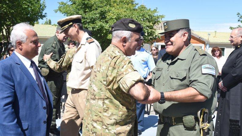 El comandante Hugo Alberto Gómez Colman asumió como jefe del escuadrón 41 de Gendarmería