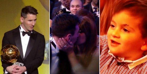 El romántico festejo de Messi con Antonella y el efusivo saludo de Thiago