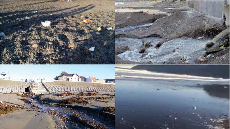 Greenpeace: piden soluciones a la contaminación de las playas de Comodoro y Rada Tilly
