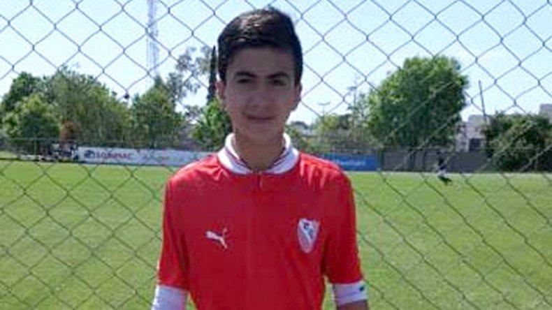 Valentino Digorado tiene 12 años