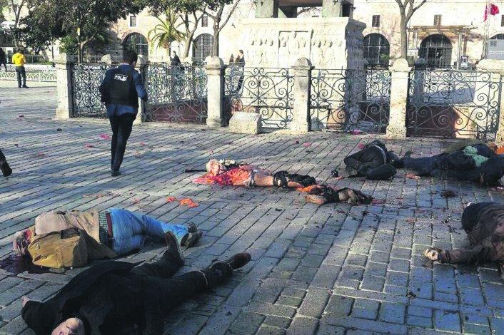 Explosión en un centro turístico de Turquía.