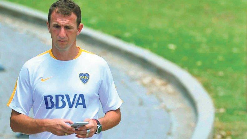 Rodolfo Arruabarrena va definiendo el equipo que jugará el sábado en San Juan ante el Emelec de Ecuador.