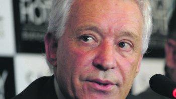 Víctor Blanco, presidente de Racing y flamante fundador de la Liga Sudamericana de Clubes.