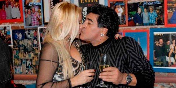 Ojeda contó cuándo fue la última vez que estuvo con Diego