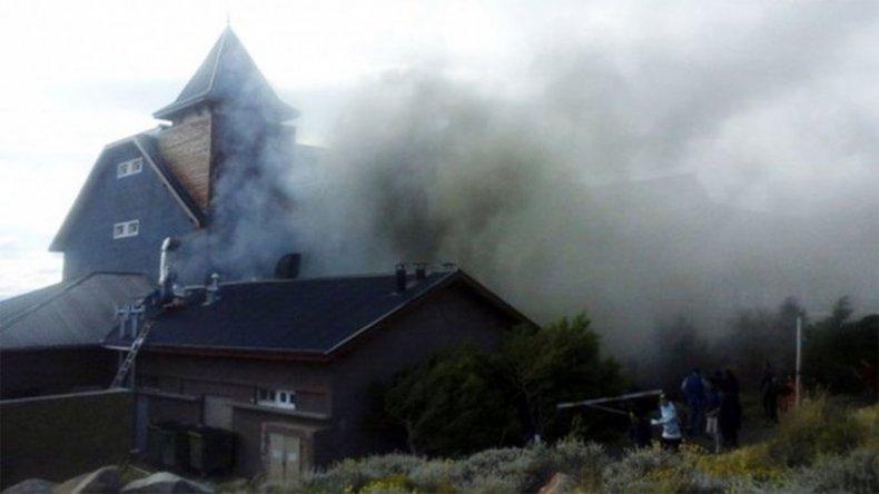 Se incendió el Hotel Alto Calafate