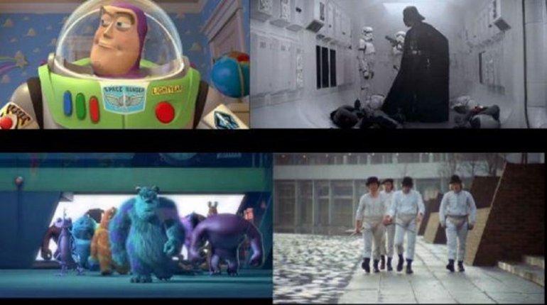 Tributos que Pixar hizo de clásicos del cine