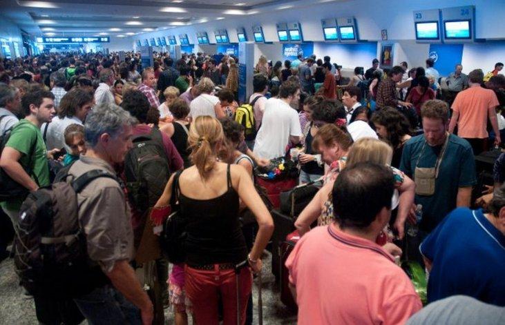 Cancelaciones y demoras en Aeroparque