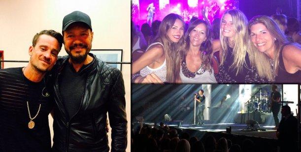 Mensajes buena onda de Marcelo Tinelli y foto con Pampita