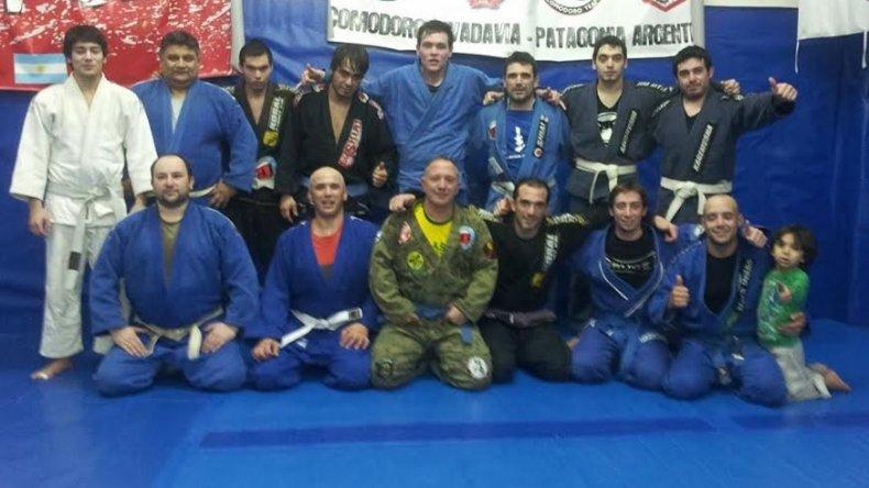 Seminario de Jiu Jitsu Brasileño