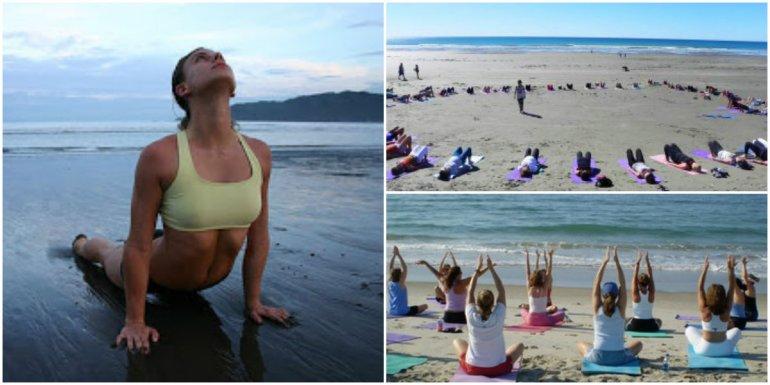 Todo el verano habrá clases gratuitas de yoga frente al mar