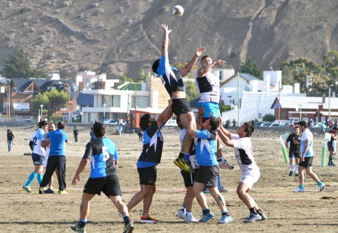 El Seven de rugby abre la  XVI edición en Rada Tilly