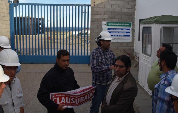 El intendente Facundo Prades fue recibido por el jefe de planta