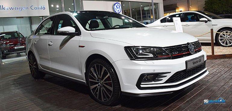 El Volkswagen Vento GLI se lanzará sobre el mes de abril