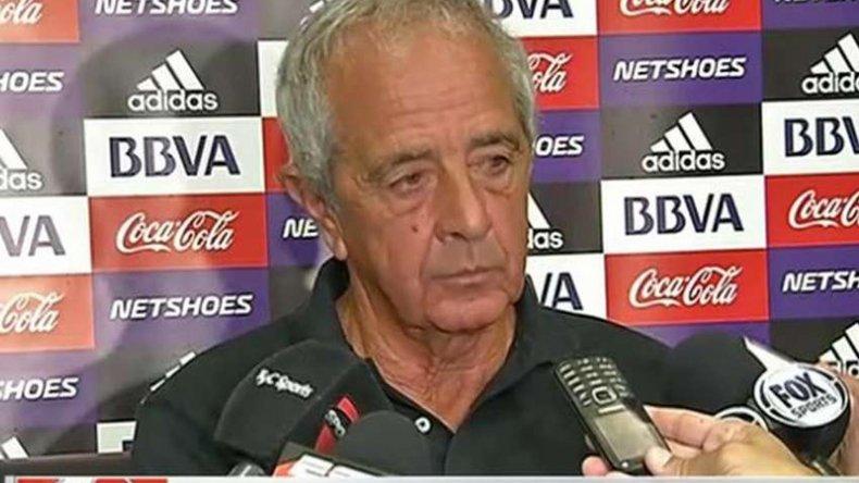 Rodolfo DOnofrio habló de todo ante la prensa ayer en Punta del Este.