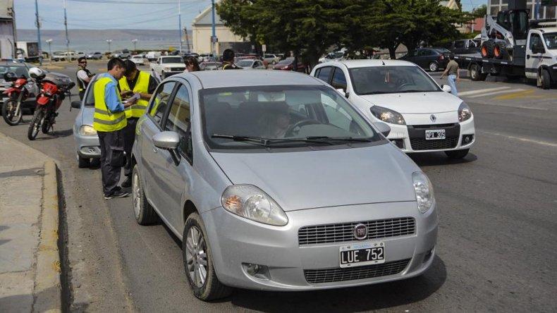 Nuevo día de controles conjuntos entre Tránsito e Ingresos Brutos del municipio.