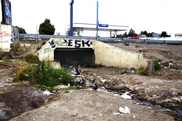 Vecinos denuncian que los basurales en Km 3 comenzaron a crecer en el último tiempo.