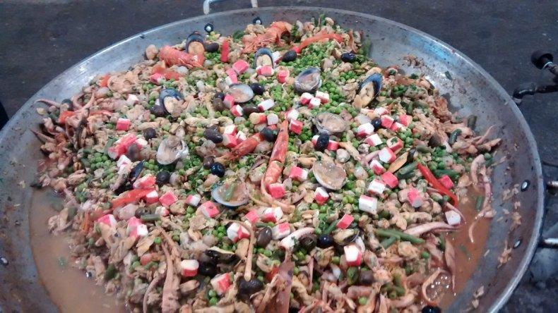 La fiesta es la oportunidad ideal para degustar platos típicos del lugar.
