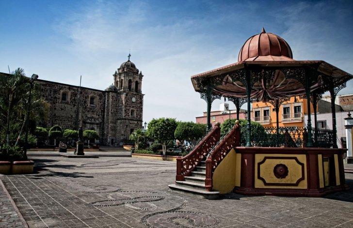 El centro del pueblo de Tequila es increíble