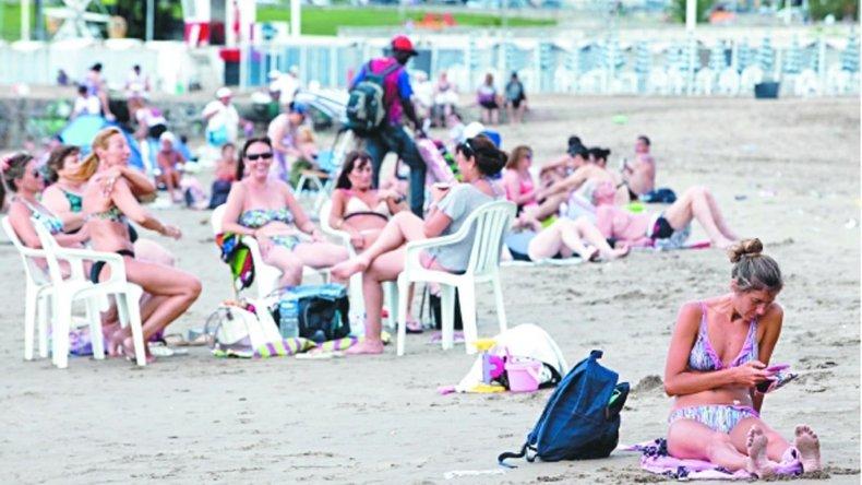 La costa atlántica sufre la baja del turismo.