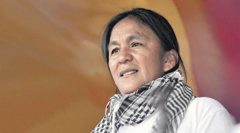 La dirigente social fue detenida en Jujuy por encabezar una protesta.