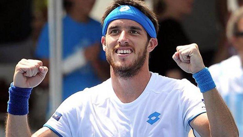 Leonardo Mayer es el mejor argentino ubicado en el ránking de la ATP.