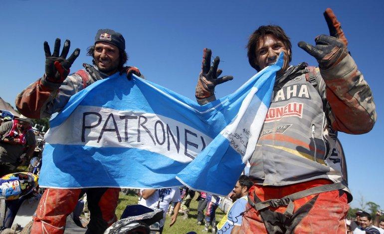 Los hermanos Marcos y Alejandro Patronelli hicieron el 1-2 en Cuatriciclos.