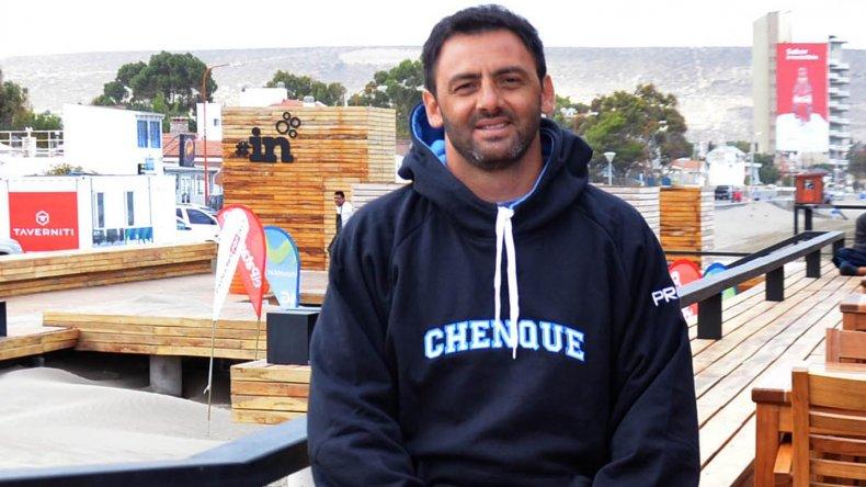 El ex Puma Federico Todeschini charló de todo con El Patagónico.