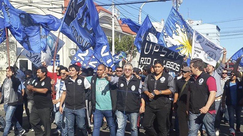 Trabajadores petroleros de Río Gallegos