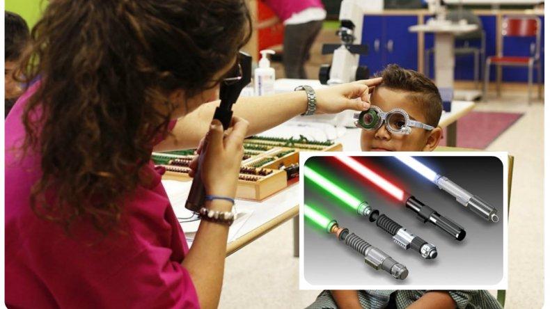 Alertan que los juguetes con láser pueden dañar la visión