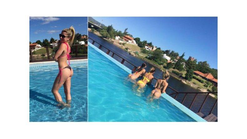 Laurita Fernández: destreza y lomazo en el agua