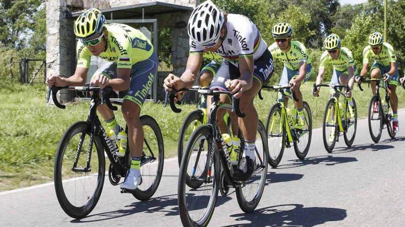 El ciclismo internacional invade San Luis.