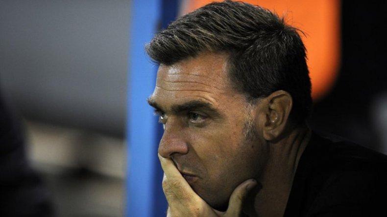 Pablo Guede sufrió el sábado su primera derrota como DT de San Lorenzo.