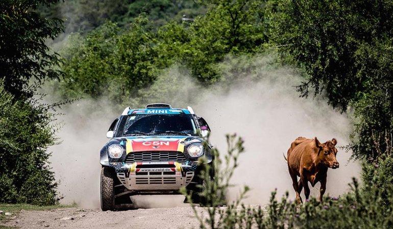 El Mini del X-Raid con Nazareno López al volante finalizó el exigente Rally Dakar.