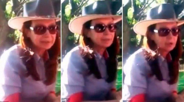 Cristina Kirchner: mucha fuerza a los dirigentes sindicales