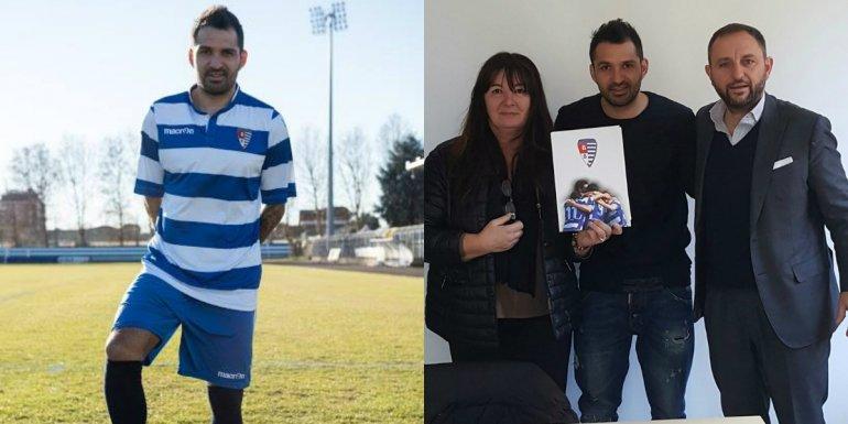 Mario Santana jugará en la cuarta división del fútbol italiano